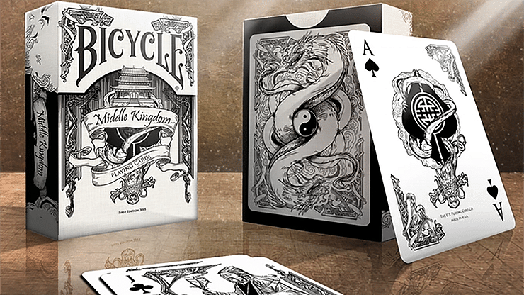 Bicycle Middle Kingdom Playing (White) - magic