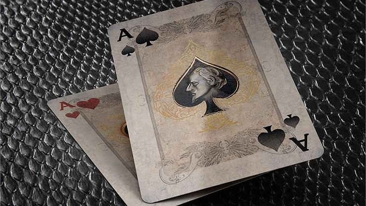 Bicycle Montague vs Capulet Playing Cards (Cream)