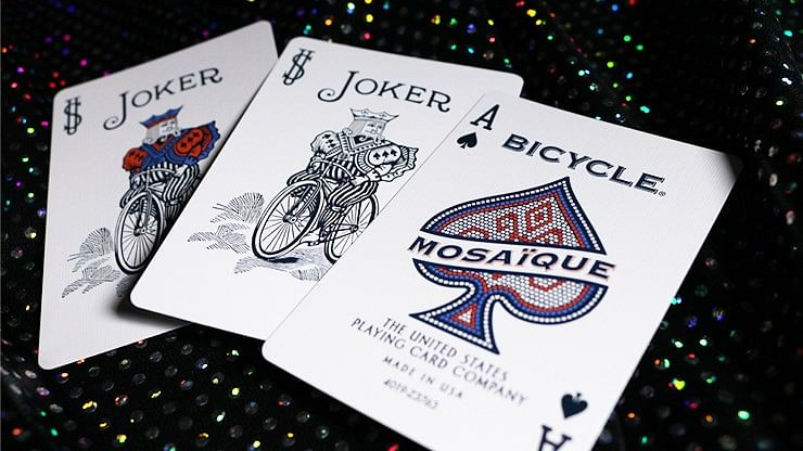 Bicycle Mosaique Playing Cards