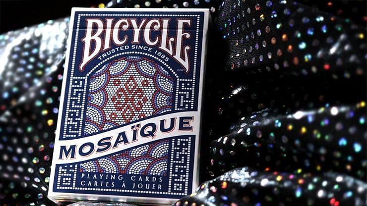Bicycle Mosaique Playing Cards - magic