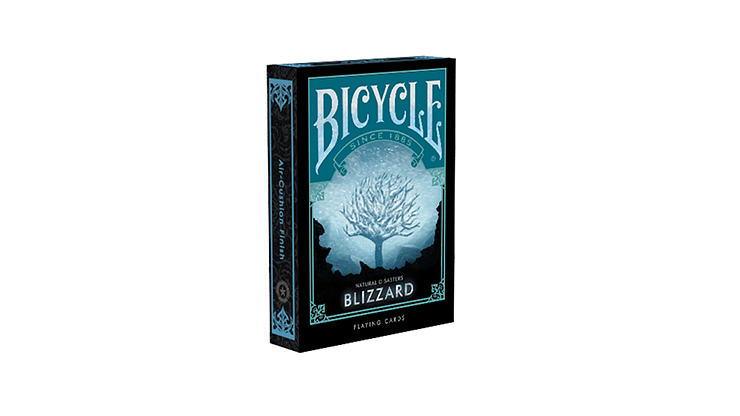 """Bicycle Natural Disasters """"Blizzard"""" Playing Cards - magic"""