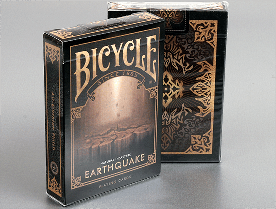 """Bicycle Natural Disasters """"Earthquake"""" Playing Cards - magic"""