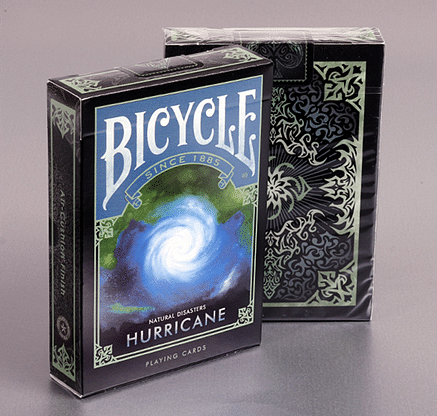"Bicycle Natural Disasters ""Hurricane"" Playing Cards - magic"