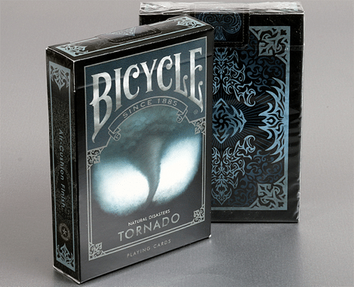 "Bicycle Natural Disasters ""Tornado"" Playing Cards - magic"
