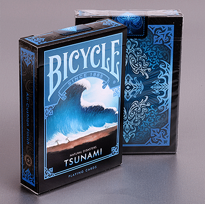 "Bicycle Natural Disasters ""Tsunami"" Playing Cards - magic"