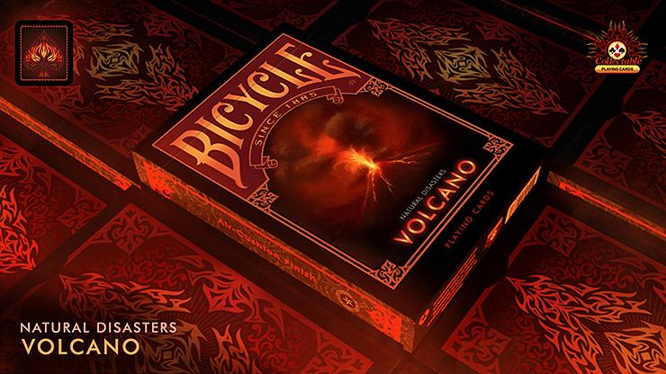 "Bicycle Natural Disasters ""Volcano"" Playing Cards - magic"