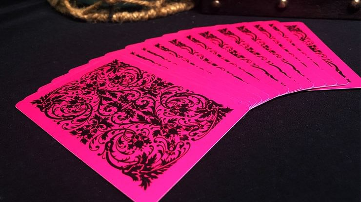 Bicycle Nautic Pink Playing Cards