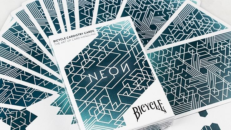 Bicycle Neon Cardistry Playing Cards - magic
