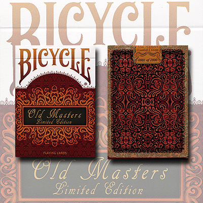 Bicycle Old Masters Playing Cards (Numbered Limited Edition) - magic