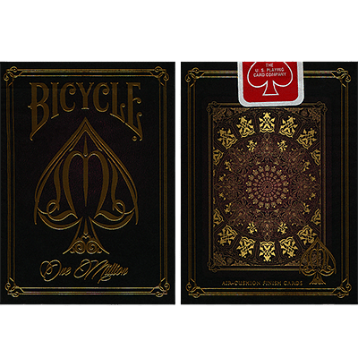 Bicycle One Million Playing Cards (Red) - magic