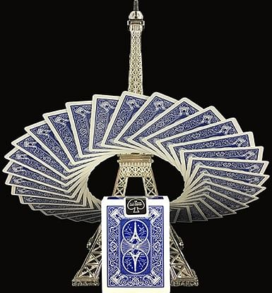 Bicycle Paris Back Limited Edition Blue Playing Cards