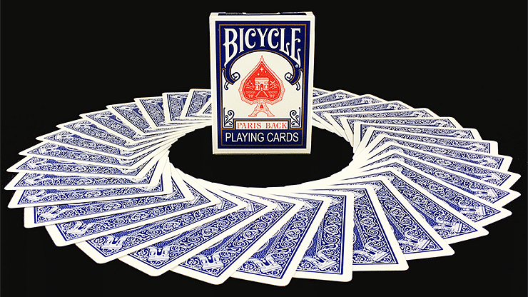 Bicycle Paris Back Limited Edition Blue Playing Cards - magic