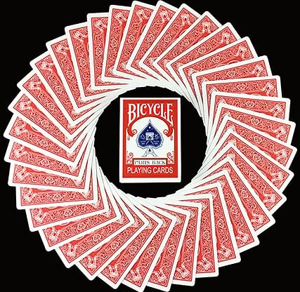Bicycle Paris Back Limited Edition Red Playing Cards