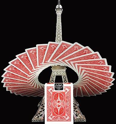 Bicycle Paris Back Playing Cards