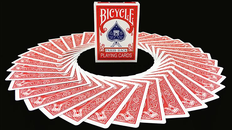 Bicycle Paris Back Playing Cards - magic