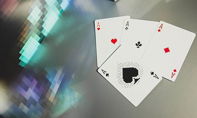 Bicycle PIXEL Playing Cards (3 Deck Collector's Set)