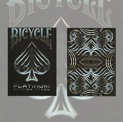 Bicycle Platinum Playing Cards - magic