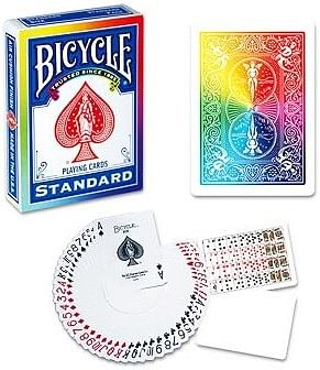 Bicycle Rainbow Playing Cards - magic