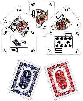 Bicycle Pro Poker Peek Playing Cards - 6 PACK  USPCC