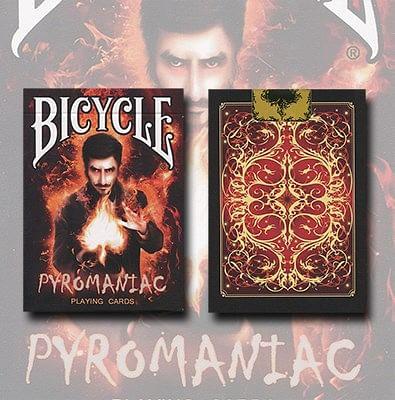 Bicycle Pyromaniac Playing Cards - magic
