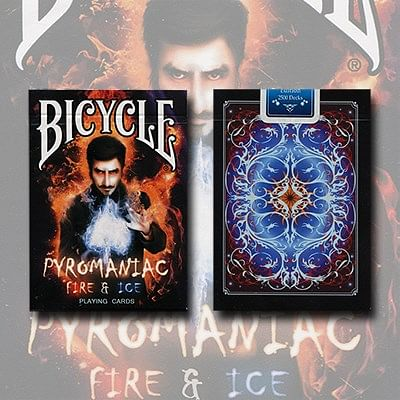 Bicycle Pyromaniac Fire and Ice Deck - magic