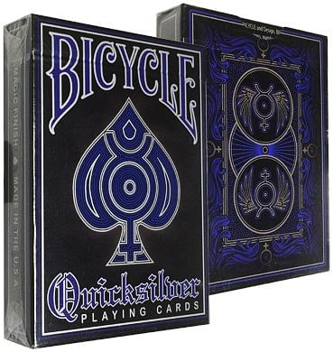 Bicycle Quicksilver Standard Deck - magic