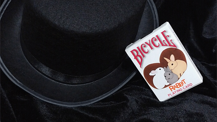 Bicycle Rabbit Playing Cards - magic