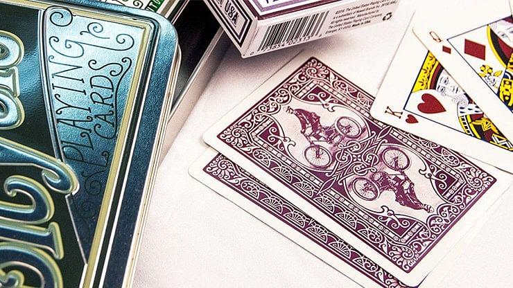Bicycle Retro Tin Playing Cards