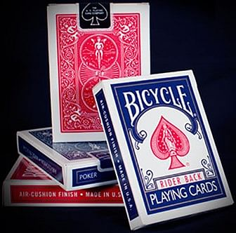 Bicycle Rider Back Playing Cards Brick (Mixed Colors - Red/Blue) - magic