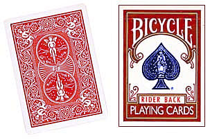 Bicycle Rider Back Playing Cards - magic