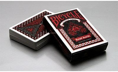 Bicycle Royal Scarlet Playing Cards - magic