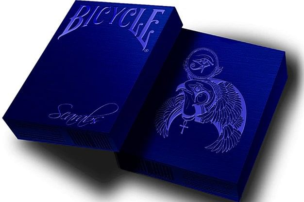Bicycle Scarab Sapphire Playing Cards (Limited Edition) - magic