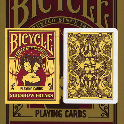 Bicycle Sideshow Freaks Playing Cards - magic