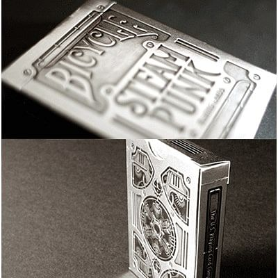 Bicycle Silver Steampunk Playing Cards