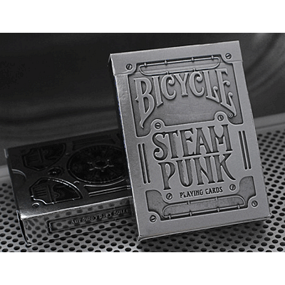 Bicycle Silver Steampunk Playing Cards - magic