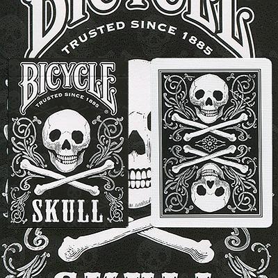 Bicycle Skull Playing Cards - magic