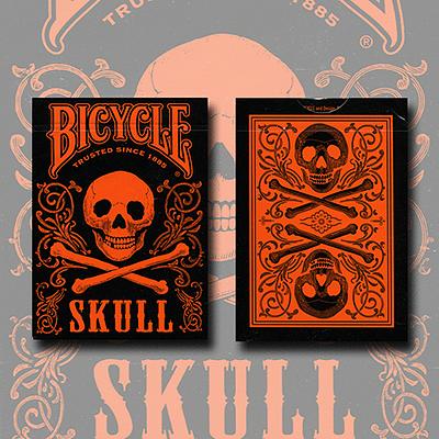 Bicycle Skull Metallic (Orange) - magic
