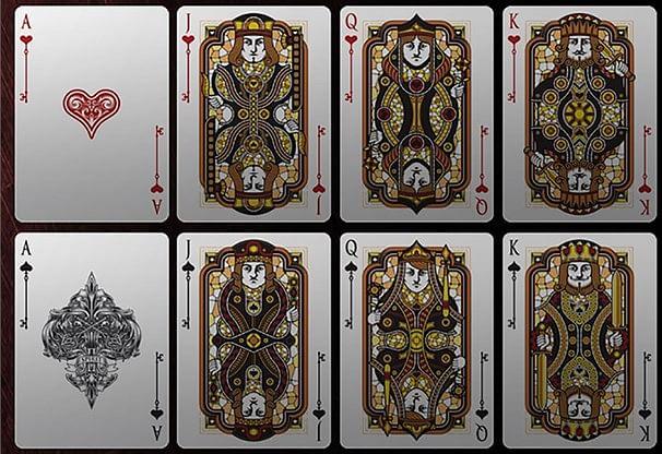 Bicycle Spirit II Red MetalLuxe Playing Cards