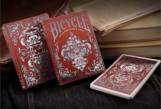 Bicycle Spirit II Red MetalLuxe Playing Cards - magic