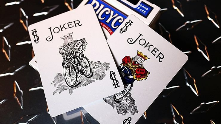 Bicycle Standard Blue Poker Cards