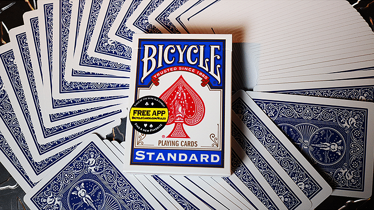 Bicycle Standard Blue Poker Cards - magic