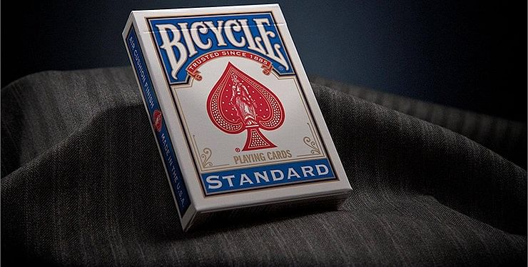 Bicycle Standard Playing Cards in Mixed Case Red/Blue