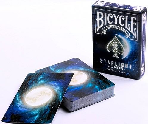 Bicycle Starlight Lunar Playing Cards - magic