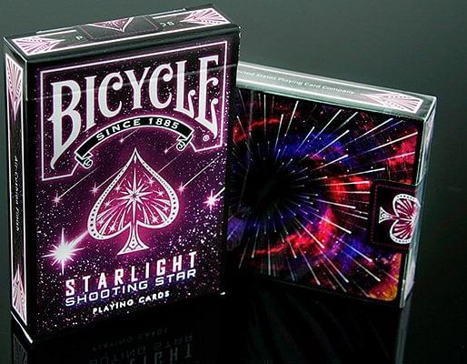 Bicycle Starlight Shooting Star Playing Cards - magic