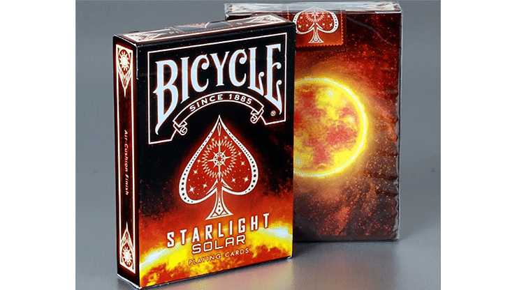 Bicycle Starlight Solar Playing Cards - magic