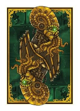 Bicycle Steampunk Cthulhu Resurrection Deck (Green)