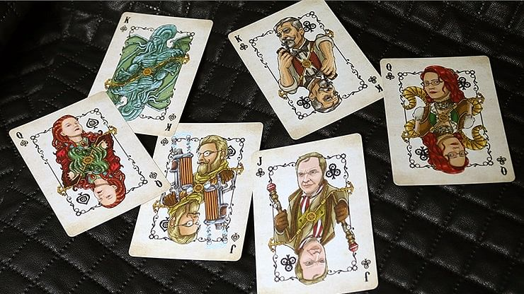 Bicycle Steampunk Cthulhu Resurrection Playing Cards