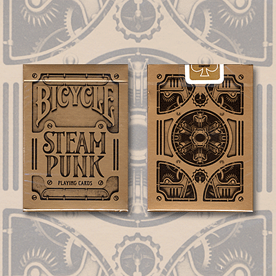 Bicycle Steampunk Playing Cards - magic