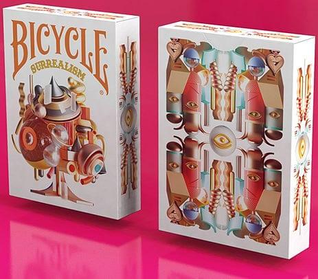 Bicycle Surrealism Playing Cards - magic