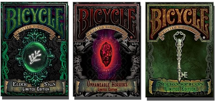 Bicycle Unnameable Horrors Limited Edition Playing Cards